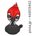 鳥 きつつき キツツキのイラスト 44859402