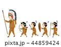 ドラマー キッズ アメリカ原住民のイラスト 44859424