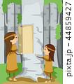 イラスト 挿絵 インディアンのイラスト 44859427