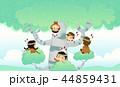 ドラマー キッズ 子供のイラスト 44859431