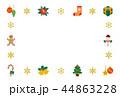 ベクター 背景 クリスマスのイラスト 44863228