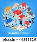 財産 リアル 本格のイラスト 44865526