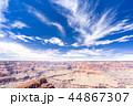グランドキャニオン キャニオン 峡谷の写真 44867307