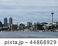 Seattle, Washington skyline across harbor 44868929