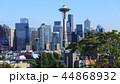 Seattle, Washington skyline on clear day 44868932