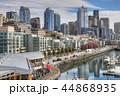 Seattle, Washington harbor area view 44868935