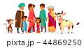 インド人 ファミリー 家庭のイラスト 44869250
