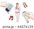 イラスト 挿絵 ビューティーのイラスト 44874139