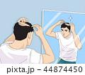 イラスト 挿絵 脱毛症のイラスト 44874450