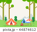 森林 林 森のイラスト 44874612