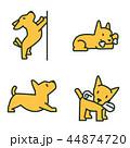 アイコン イコン 動物のイラスト 44874720