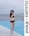 Summer Vacation of beautiful women,having fun in the water 053 44874752