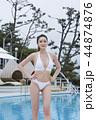 Summer Vacation of beautiful women,having fun in the water 007 44874876