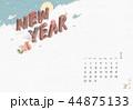 背景 カレンダー 暦のイラスト 44875133
