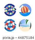 Summer Holiday Icon Set 44875184