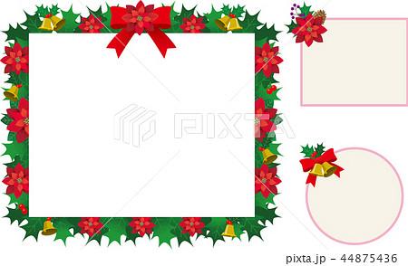 クリスマス フレームのイラスト素材 44875436 Pixta