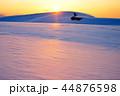 鳥取砂丘 砂丘 夕暮れの写真 44876598