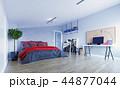 寝室 屋根裏 屋根裏部屋のイラスト 44877044