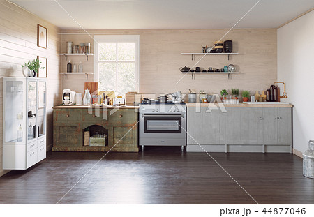 modern country style kitchen 44877046
