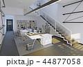 オフィス インテリア 近代的のイラスト 44877058