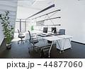オフィス インテリア 近代的のイラスト 44877060