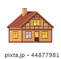 住宅 住居 家のイラスト 44877981