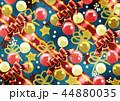 背景 クリスマス 装飾のイラスト 44880035