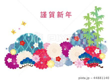 亥年-年賀状テンプレート 44881140