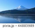 逆さ富士 河口湖 富士山の写真 44883989