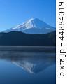 逆さ富士 河口湖 富士山の写真 44884019