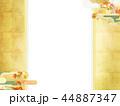 紅葉 秋 和紙のイラスト 44887347