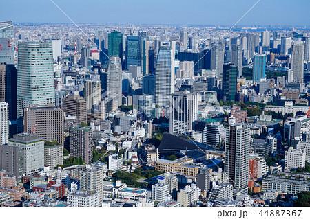 東京 大都市風景 汐留シオサイ 44887367