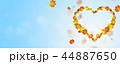 あき 秋 ハートのイラスト 44887650