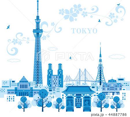 東京の街並 44887786