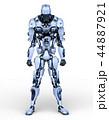 CG ロボット SFのイラスト 44887921