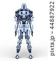 CG ロボット SFのイラスト 44887922