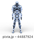 CG ロボット SFのイラスト 44887924