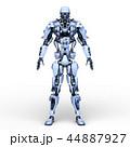 CG ロボット SFのイラスト 44887927
