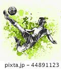 サッカー ボール 玉のイラスト 44891123