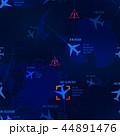 飛行機 ベクトル ジェットのイラスト 44891476