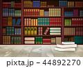 書架 ブック 本のイラスト 44892270