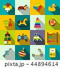 おもちゃ フラット 平のイラスト 44894614
