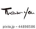 Thankyou ありがとう 英語のイラスト 44898586