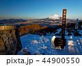 朝の金時山から見る富士山 44900550