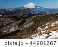富士山 冬 金時山の写真 44901267