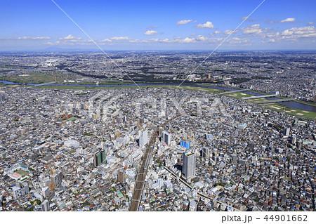 小岩上空/航空写真 44901662