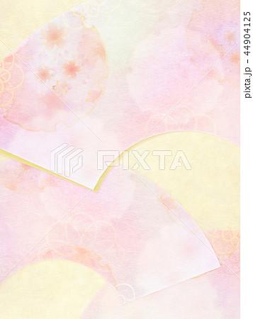 和-和風-和柄-背景-和紙-春-桜-ピンク 44904125