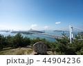 鷲羽山展望台からの瀬戸大橋 44904236