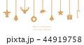 クリスマス デコレーション 装飾のイラスト 44919758