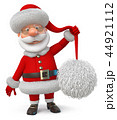 Santa Claus in a cap with a big pompom 44921112